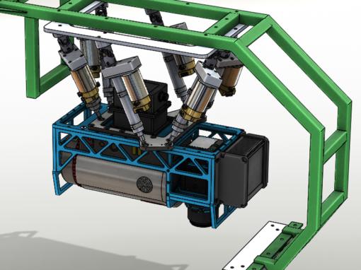 Platforma stabilizująca optyczne urządzenia pomiarowe do AMS584